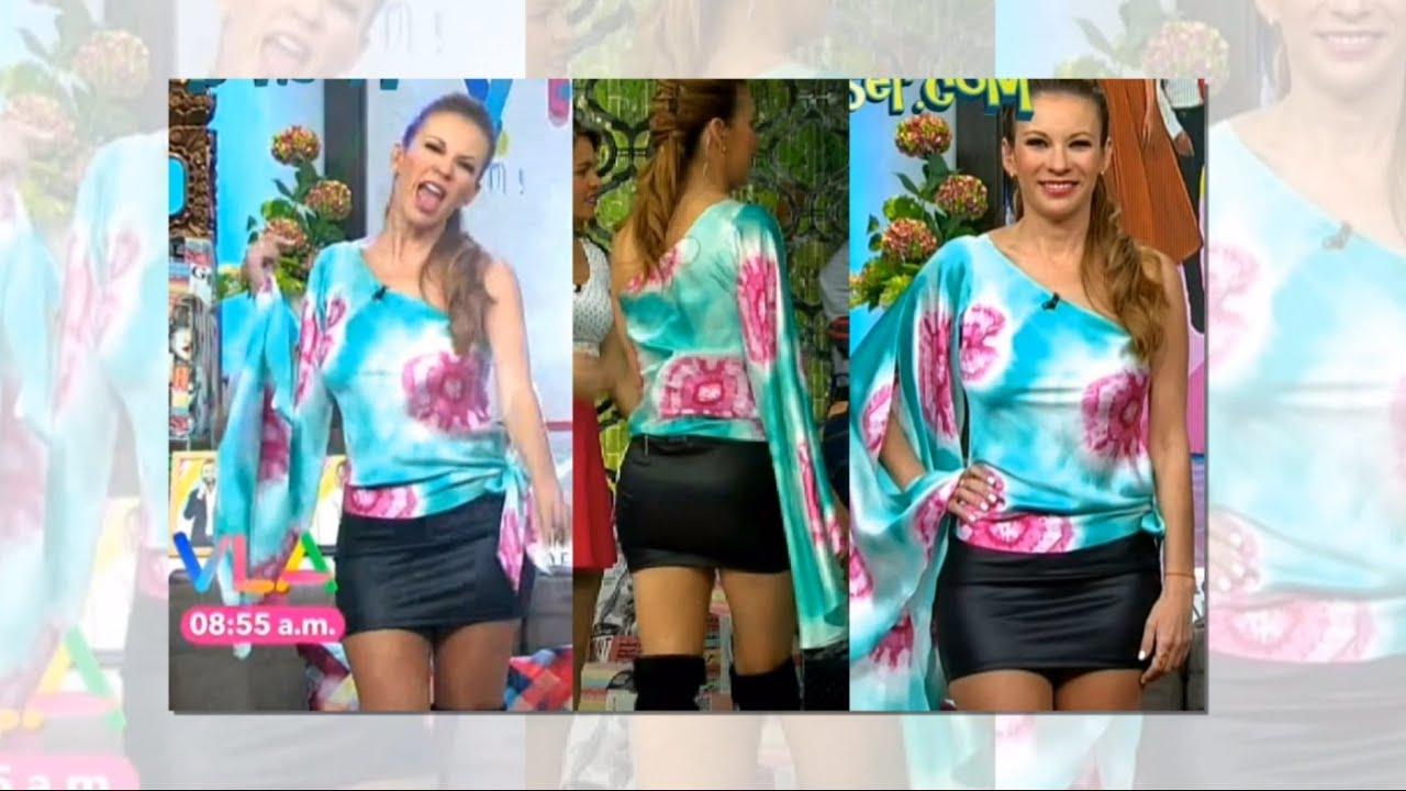 Ingrid Coronado Sexy Mini Falda Youtube