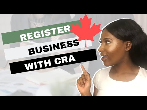 How To Register A Business| In Ontario (with CRA)