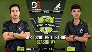 AIS CS:GO Pro League Season#7 R.4 DreamSeller vs. Astro MAP2 DUST2