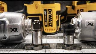 1/4 Hex Anvil VS. 3/8 Anvil in a Impact Wrench