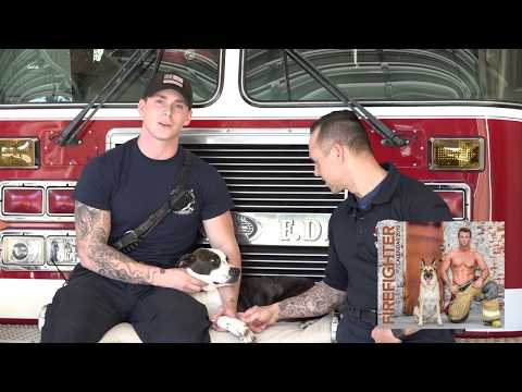 Lil Buck and Firefighter Calendar