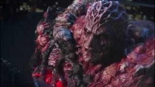 Resident Evil Vendetta - Leon fight against Mutated Glenn Arias