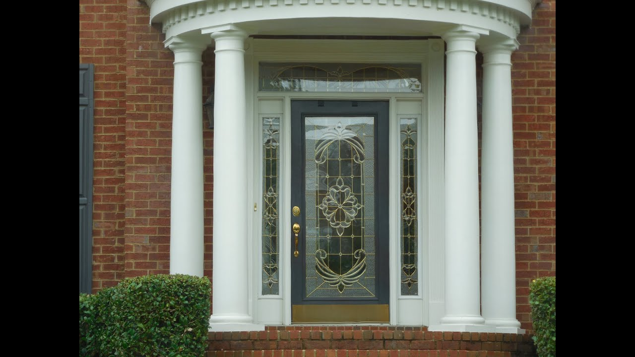 many front doors designs - house building, home improvements