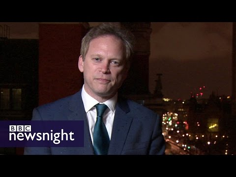 Grant Shapps: 'The pointlessness of an attack like this will be crystal clear' - BBC Newsnight