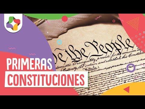¿cómo-eran-las-primeras-constituciones?