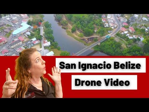 San Ignacio Belize Cayo District Drone Video