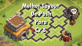 layout cv 8 push