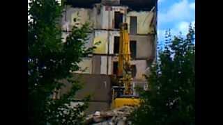 wohnblock wird abgerissen in meiningen teil 5