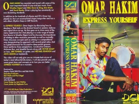 Omar Hakim - Express Yourself (1993) VHS