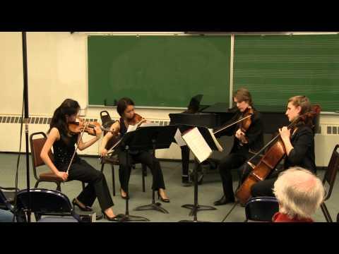 Ligeti's 1st String Quartet Filmed by Simon