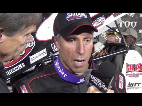 Williams Grove Speedway World of Outlaw Sprint Car Victory Lane 10-04-15