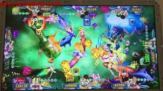 mermaid legend fish hunter game slot fishing game machine