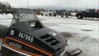 Eganville Antique Snowmobile and parts swap 2013!  PowerModz was there!