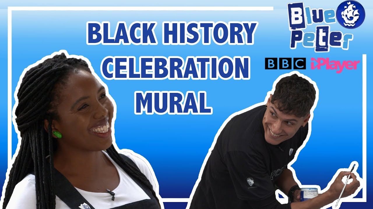 Black History Celebration Mural - Blue Peter