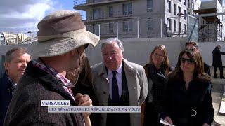 Yvelines | Versailles : Les sénateurs républicains en visite