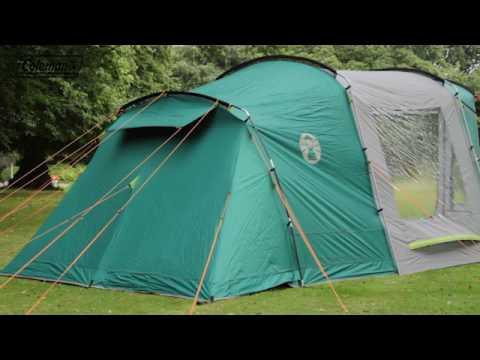 Coleman® Oak Canyon 4 - Familienzelt mit Nachtschwarz-Schlafkabinen - DE