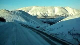 Фото Тенькинские перевалы. Дорога Магадан Омчак.