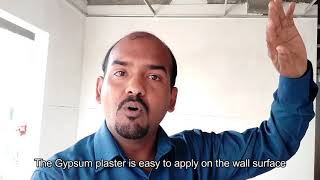 """""""Wall plastering made easy with gypsum plaster"""""""