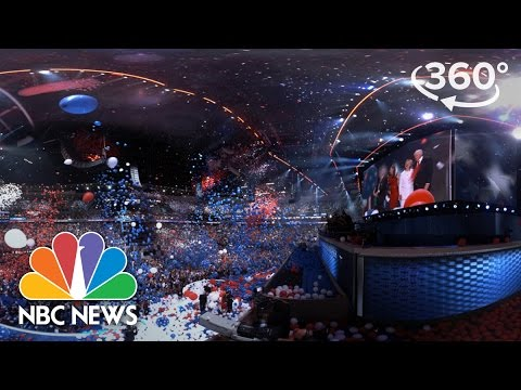 Highlights Of The Democratic National Convention In Philly | 360 Video | NBC News