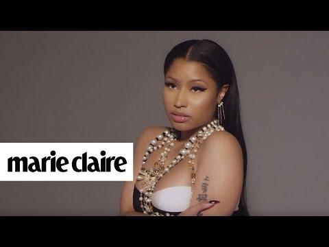 Nicki Minaj | Behind the Scenes | Marie Claire