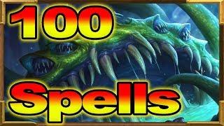 Hearthstone: 100+  Spells Yogg! Super Crazy! Rise of Shadows!