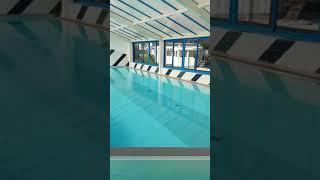 La piscine intérieur du camping les Dunes 5*