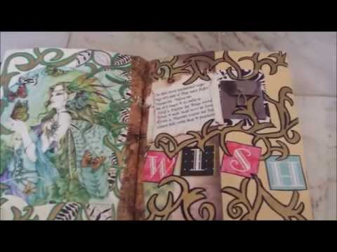 OOAK 4D Fae Book of Shadows