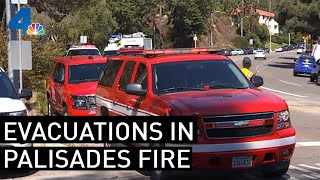 Pacific Palisades Fire Forces Evacuations http://4.nbcla.com/ALU3YZr