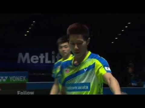 Yonex All England Open 2017 | Badminton QF M2-MD | Goh/Tan vs Li/Liu