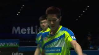yonex all england open 2017   badminton qf m2 md   goh tan vs li liu
