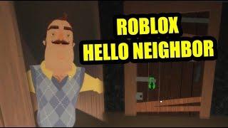 Hello neighbor Roblox FULL GAME
