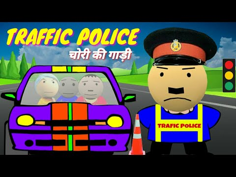 Traffic Police Angry Billa Funny Video Comedy