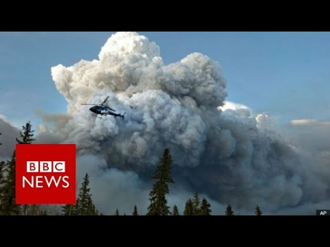 Alberta wildfire: Emergency declared in Fort McMurray - BBC News