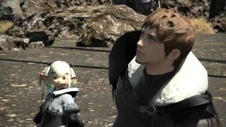 FFXIV Heavensward - New 3.1 Main Story Quest #5: The Warrior of Darkness! (Japanese Audio 60 fps)