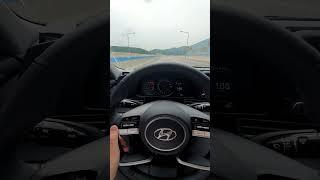 아반떼 CN7 고속도로 드라이브