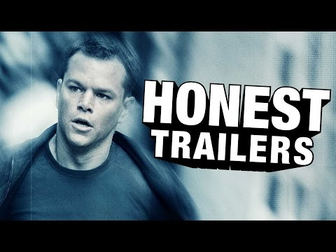 Honest Trailers - The Bourne Trilogy