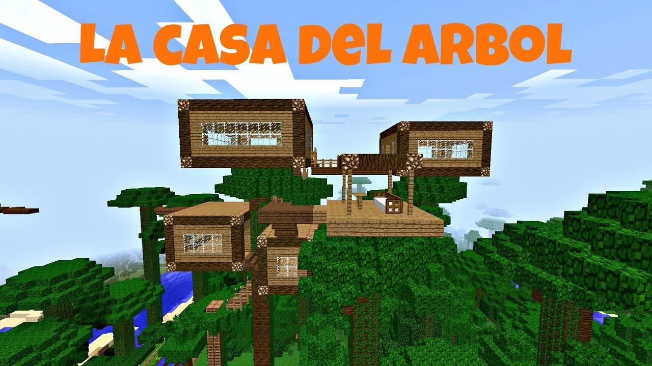 La casa del rbol descarga minecraft mapa 1 7 9 youtube for Casa en el arbol cuenca