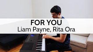 """""""For You"""" (Fifty Shades Freed) - Liam Payne, Rita Ora (Piano Cover) by Niko Kotoulas"""