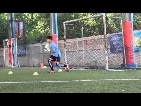 goalkeeper training by singapore FC. (The Academy Platinum Football Club)