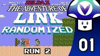 [Vinesauce] Vinny - Zelda II Randomized: Run 2 (part 1)