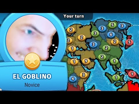 El Goblino Takes Over The World - XQc Plays RISK Online