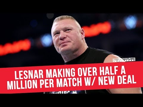 Brock Lesnar Making Over Half A Million Per Match With New Deal
