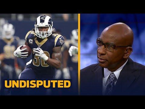 Los Angeles Rams vs Seattle Seahawks in Week 5 - Eric Dickerson previews   UNDISPUTED