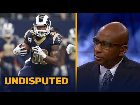 Los Angeles Rams vs Seattle Seahawks in Week 5 - Eric Dickerson previews | UNDISPUTED