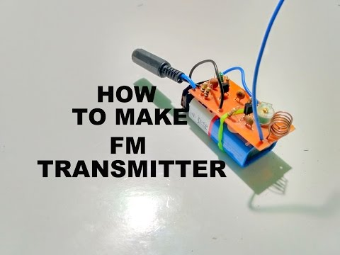 How to make FM Radio Transmitter