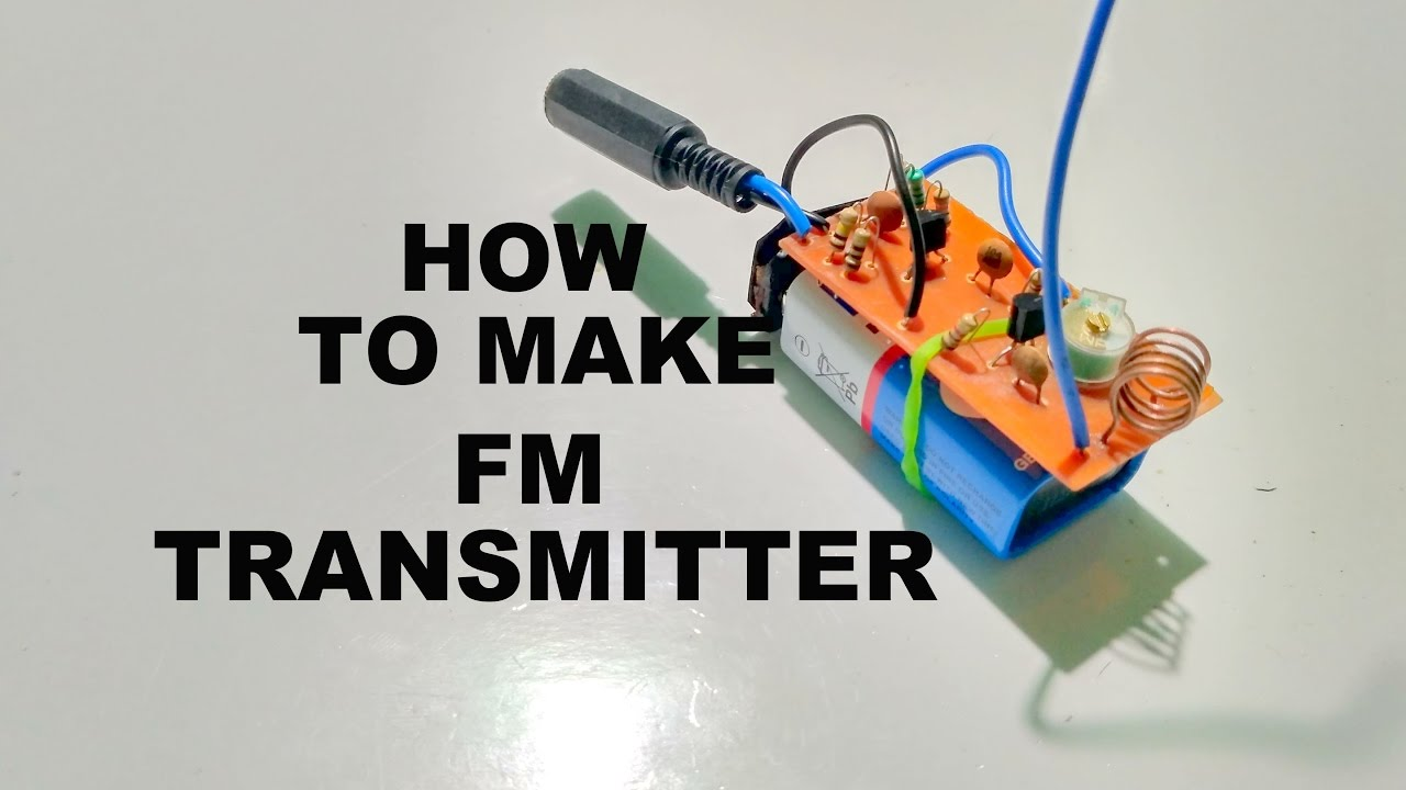 Fm Transmitter How To Make Youtube China Digital Receiver Circuit Board Assembly Production