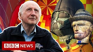 The man who shaped the history of hot air balloons - BBC News