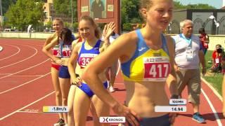 2017 07 23 ATHLETICS HIGHLIGHTS 100m HURDLES   HEPTATHLON   WOMEN DEAFLYMPICS2017