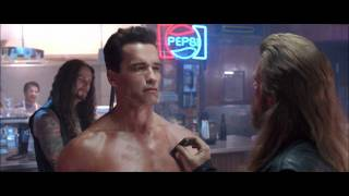 Terminator 2 I need your clothes your boots and your motorcycle 1080p