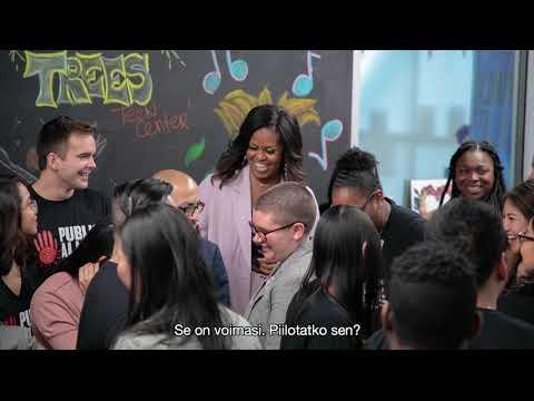 Michelle Obama: Minun tarinani - Täytettävä kirja oman äänen löytämiseen Trailer 60 sek